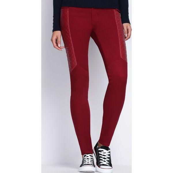 8123c84f7940 Bordowe Spodnie One More Day - Rurki damskie marki Born2be. Za 9.99 ...