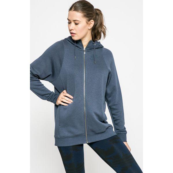 79ef7eb31 Nike Sportswear - Bluza - Szare bluzy damskie marki Nike Sportswear ...