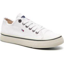 dec142f409ab8 ... Kolekcja lato 2019. Tenisówki TOMMY JEANS - Lowcut Tommy Jeans Sneaker  EN0EN00659 White 100. Trampki damskie marki Tommy
