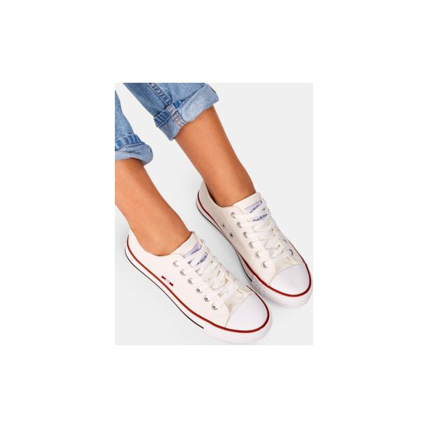 86e0ba39d55fd Trampki Smith's Niskie Off White - Białe trampki damskie marki ...