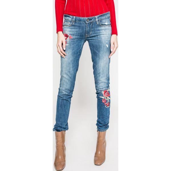 d688d8f4577c3 Guess Jeans - Jeansy Starlet - Niebieskie jeansy damskie marki Guess ...