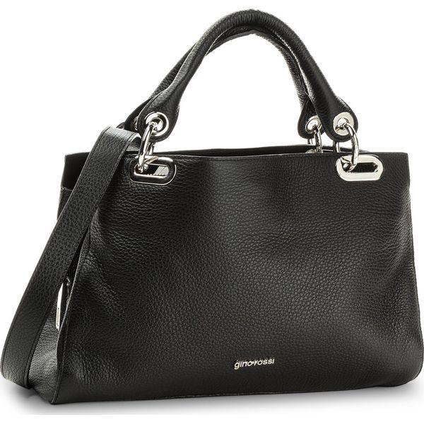 dafe7cdccaf7f Torebka GINO ROSSI - Hendi XD3800-ELB-BG00-9900-T 99 - Czarne torebki  klasyczne damskie marki Gino Rossi. W wyprzedaży za 499.00 zł.