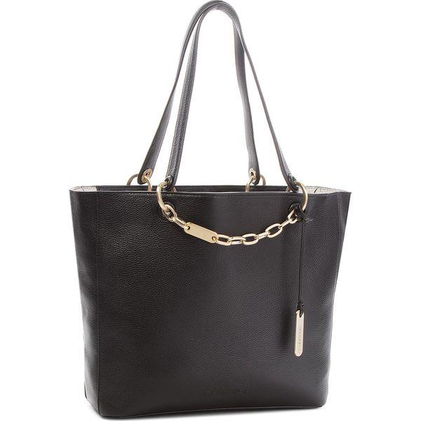 52b3201e1c2d9 Torebka CALVIN KLEIN BLACK LABEL - Summer Item Shopper K60K604516 001 -  Czarne shopper bag marki Calvin Klein Black Label. W wyprzedaży za 909.00  zł.