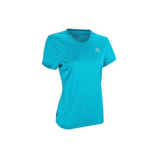e330e2efe3c090 Koszulka do biegania krótki rękaw damska EKIDEN - Czerwone koszulki ...