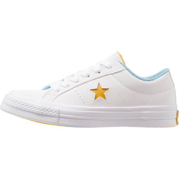 3b3bcf10a04c0 Converse ONE STAR GRAND SLAM Sneakersy niskie white/mineral yellow ...