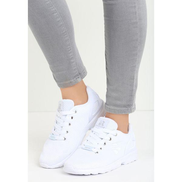 e19b5a5a82d85 Białe Buty Sportowe Kagill - Białe obuwie sportowe casual damskie ...