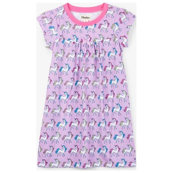 1080b32ff11fac Hatley Dziewczęca Koszula Nocna Z Jednorożcem 134/140 Różowa ...