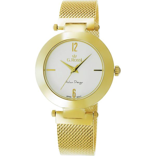 5ac33db0bb63c Zegarek Gino Rossi damski Porla złoty (11266B-3D1) - Żółte zegarki ...