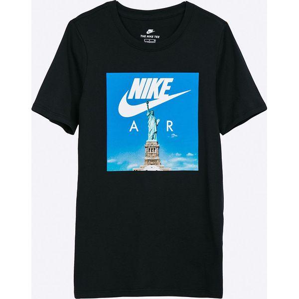 c4b27f075a985a Nike Kids - T-shirt dziecięcy 122-170 cm - Czarne t-shirty i ...