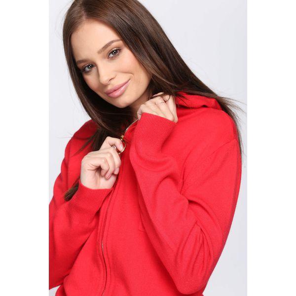 c5533d2f26ff39 Czerwony Kardigan It's Your Choice - Czerwone kardigany damskie ...