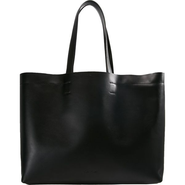 294e2f636b9f7 Calvin Klein EFFORTLESS Torba na zakupy black - Czarne shopper bag ...