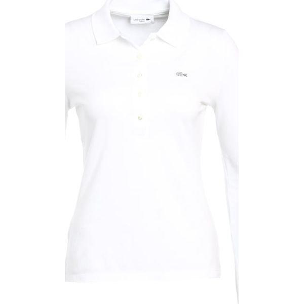 232744dbb Lacoste Koszulka polo white - Białe bluzki damskie marki Lacoste, z  bawełny, polo, z długim rękawem. Za 449.00 zł. - Bluzki damskie - Bluzki i  koszule ...