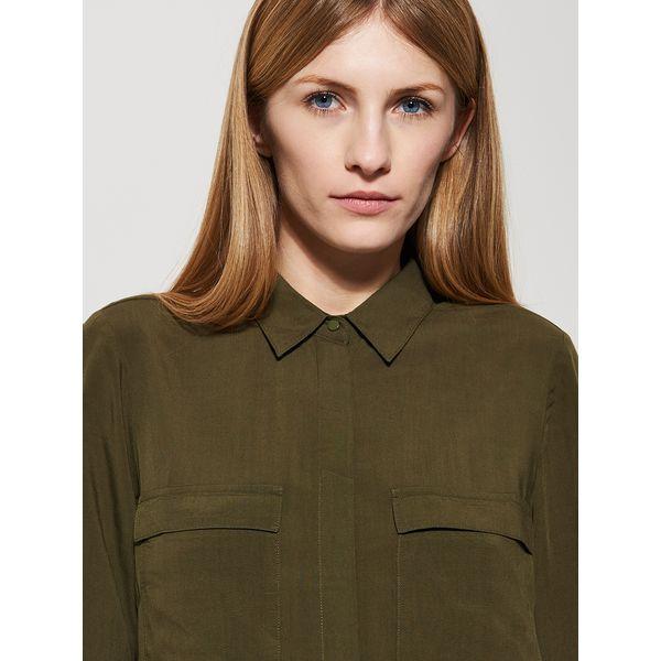 HouseZa Damskie Zielony Koszule Gładka Zielone Koszula 59 99 8n0OwPk