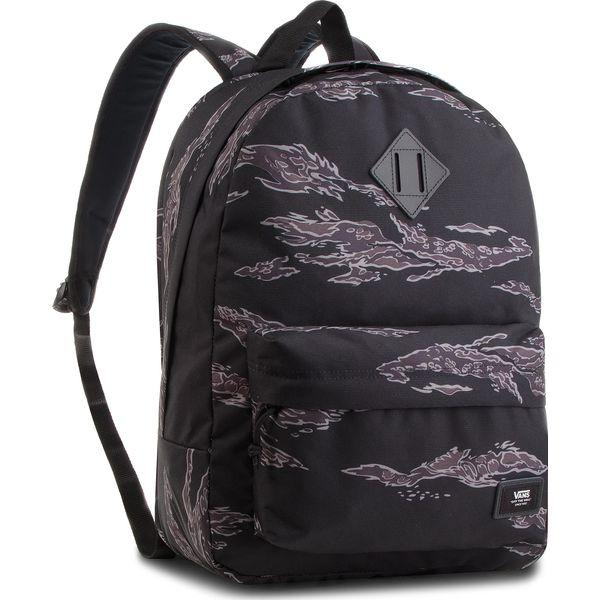 bdf4917fc1368 Plecak VANS - Old Skool Plus VN0002TMXGS Tiger Camo - Czarne plecaki ...