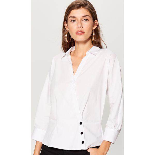 384c41d0b5014f Koszula kimono - Biały - Koszule damskie marki Mohito. W wyprzedaży za  49.99 zł. - Koszule damskie - Bluzki i koszule damskie - Odzież damska -  Butik ...