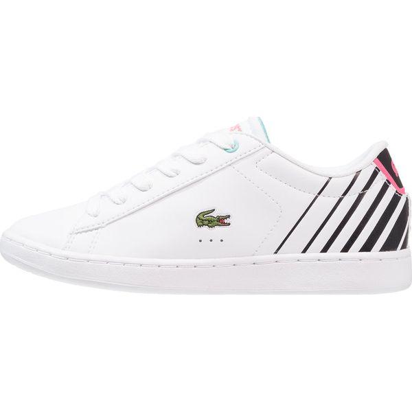 964636c5a Lacoste CARNABY EVO Tenisówki i Trampki white/black - Białe buty ...