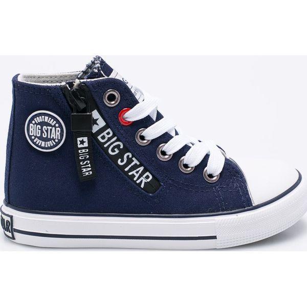9f110a34daba1 Big Star - Trampki dziecięce - Szare buty sportowe chłopięce marki ...