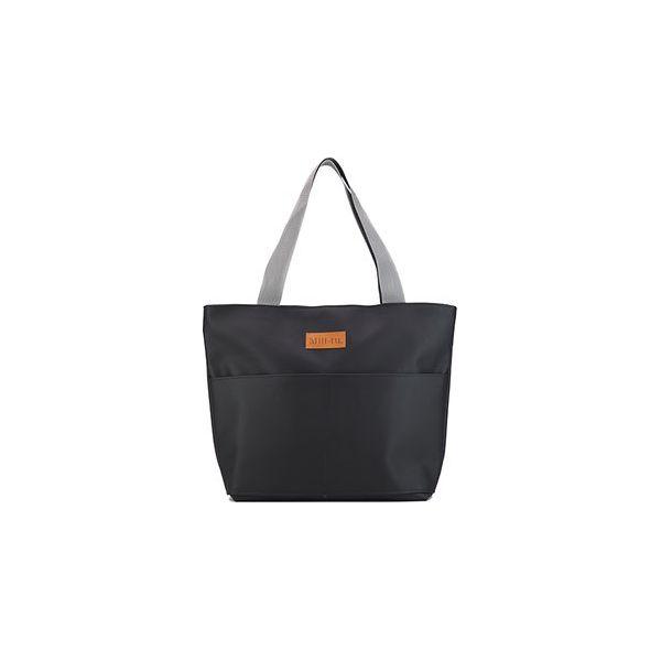 e642dedf1c047 Torba typu shopper Mili City Bag - czarna - Czarne shopper bag marki ...