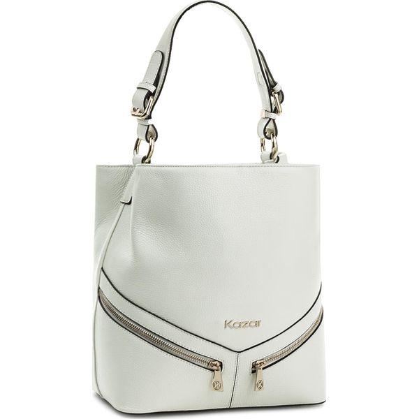 e645a2549f8db Torebka KAZAR - Victoria 29059-15-01 White - Białe torebki klasyczne  damskie marki Kazar, ze skóry. W wyprzedaży za 549.00 zł.