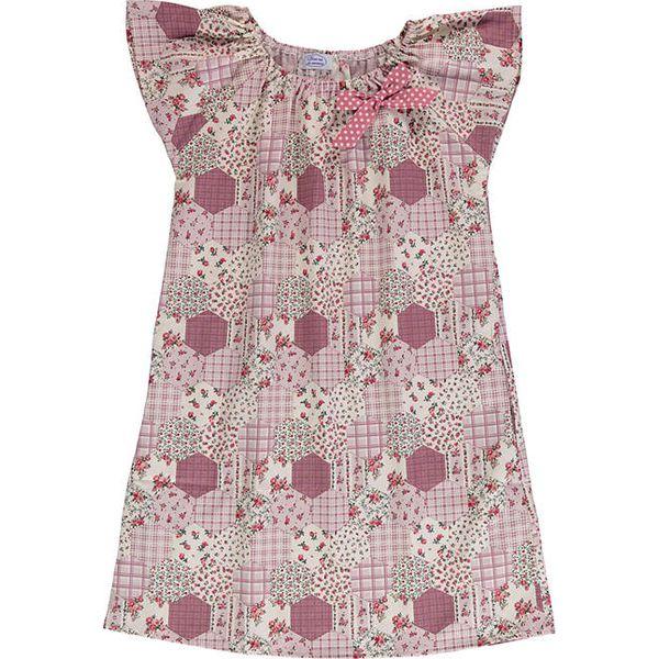 1076320242 Sukienka w kolorze fioletowym ze wzorem - Fioletowe sukienki ...