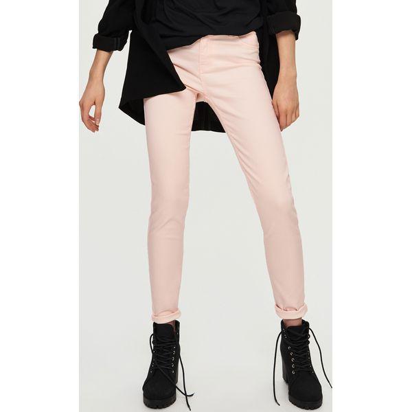 06965fc0b37d Tregginsy high waist - Różowy - Czerwone rurki damskie marki Sinsay ...
