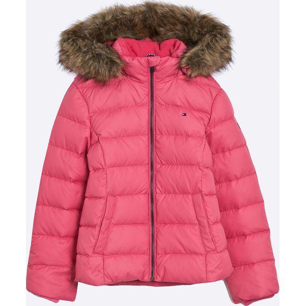 6c892fe3d5078 Tommy Hilfiger - Kurtka dziecięca 128-176 cm - Różowe kurtki ...