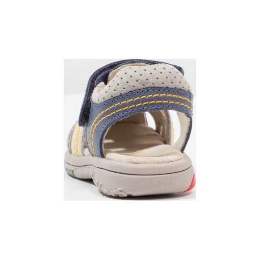 7760817c98969 Kickers PLATINIUM Sandały marine/gris - Sandały chłopięce marki ...