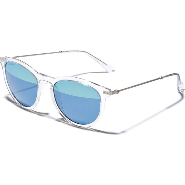 27700dd693c7f8 Okulary damskie w kolorze srebrno-niebiesko-zielonym - Niebieskie ...