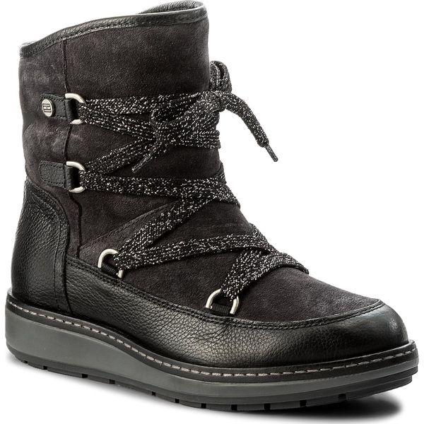 505ce99451716 Śniegowce TOMMY HILFIGER - Wooli 14C1 FW0FW01923 Magnet 008 - Czarne ...