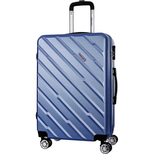 13779f7e77346 Walizka w kolorze niebieskim - 33 x 56 x 23 cm - Walizki marki Crazy ...