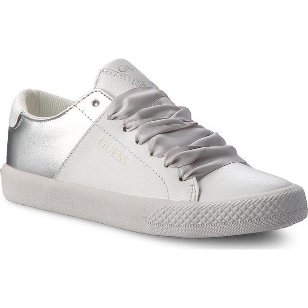 18c84395ee1ae Tenisówki GUESS - FILAR3 LEA12 OWT - Białe trampki dziewczęce marki ...