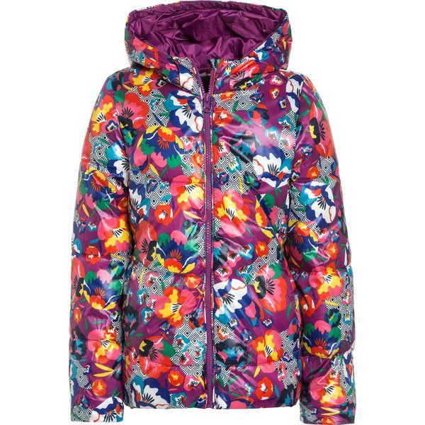 9563872ddf83a Benetton Kurtka zimowa multicolor - Fioletowe kurtki i płaszcze ...