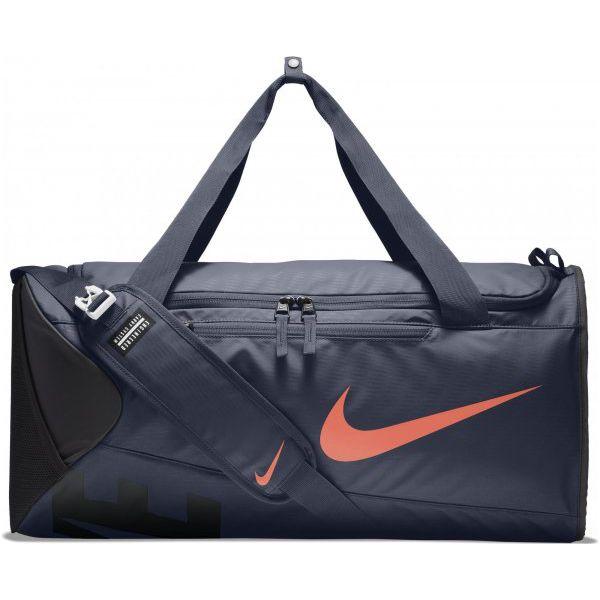 świeże style nowy autentyczny świetne ceny Nike Torba Treningowa Alpha (Medium) Training Duffel Bag Thunder Blue Black  Hyper Crimson