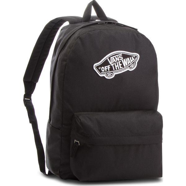 5fbb1e4b3f843 Plecak VANS - Realm Backpack VN0A3UI6BLK Black - Czarne plecaki ...