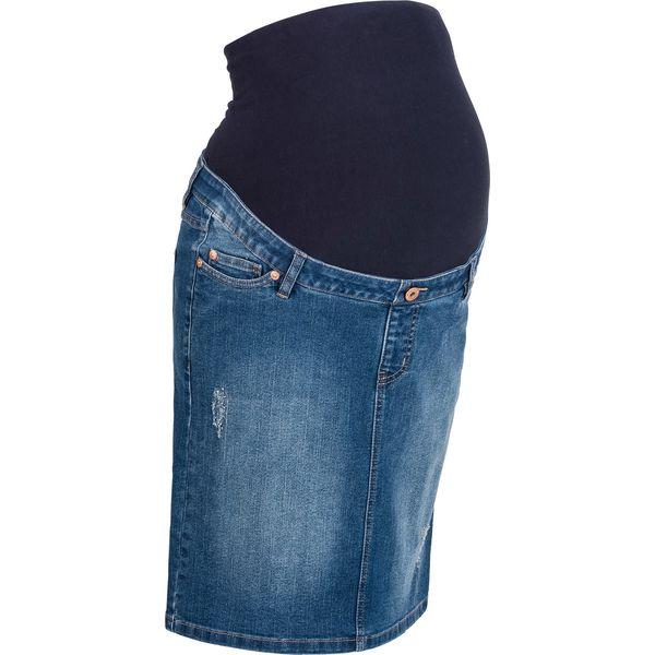 272eeaa0 Spódnica ciążowa dżinsowa
