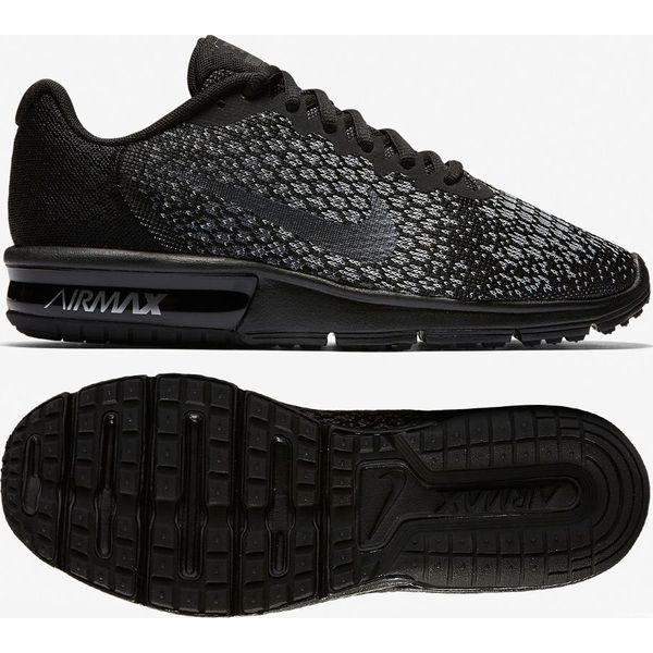 25cfd2b857b57 Nike Buty damskie Air Max Sequent 2 czarne r. 38 (852465 010) - Czarne  obuwie sportowe treningowe marki Nike. Za 258.13 zł.