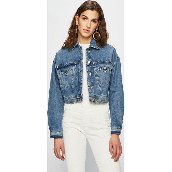 4f8bdfcaf7637 Versace Jeans - Kurtka jeansowa - Kurtki damskie marki Versace Jeans ...