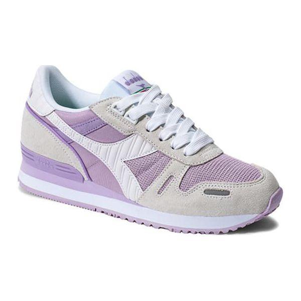 e6972dcc Sneakersy w kolorze fioletowym - Fioletowe obuwie sportowe casual ...