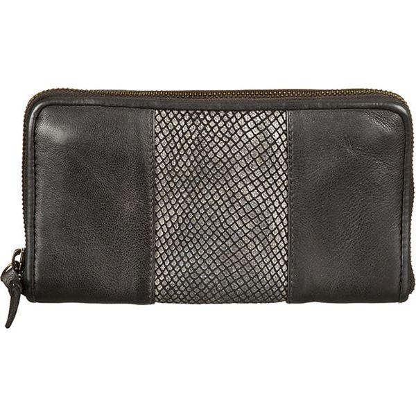 21e2a0e27fe0e Skórzany portfel w kolorze czarnym - 20 x 11 x 2 cm - Czarne portfele  damskie marki Bull & Hunt, z materiału. W wyprzedaży za 173.95 zł.