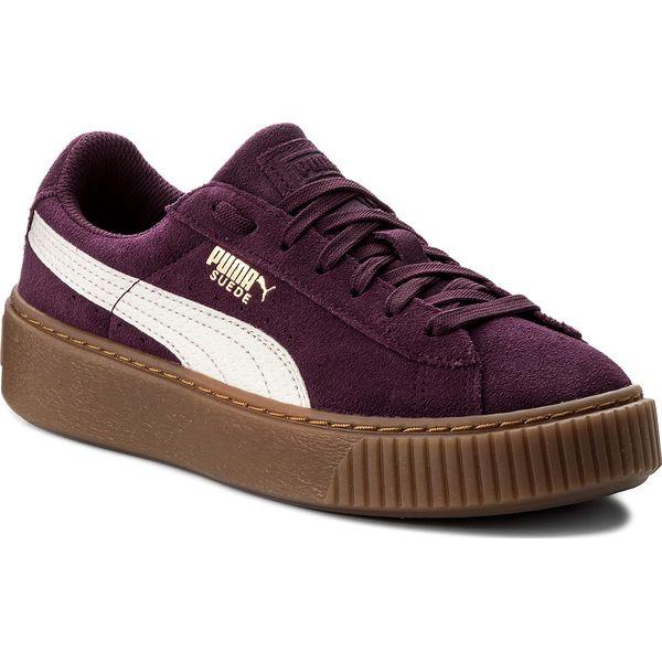 0dd9dfe65b74a Sneakersy PUMA - Platform Snk Jr 363906 03 Dark Purple Marshmallow ...