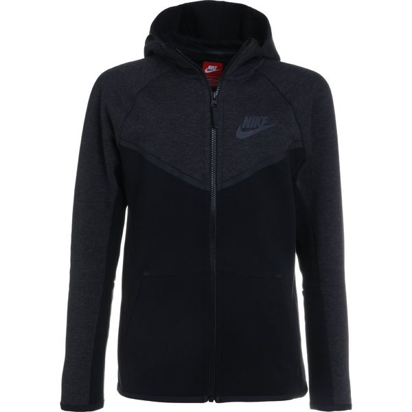 fddfbd6345 Nike Performance HOODIE Bluza rozpinana black heather black ...