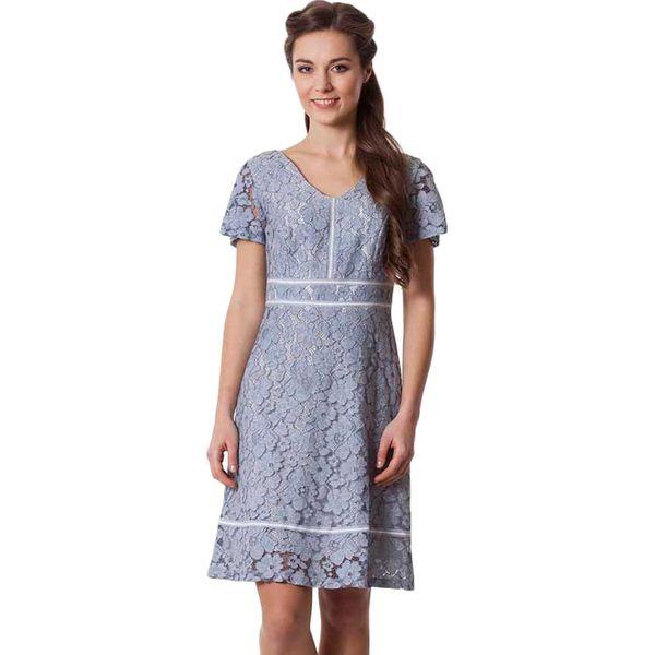 47e4bedbb2 Sukienka w kolorze szarym - Szare sukienki damskie marki Semper