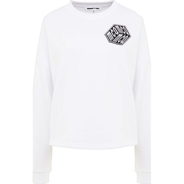 90d7b42fb McQ Alexander McQueen Bluza optic white - Bluzy damskie marki McQ ...