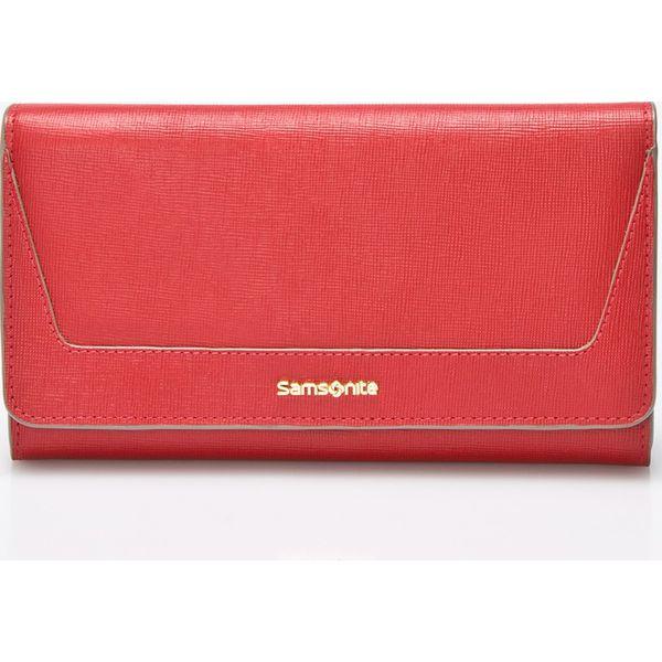 1fd662873b082 Samsonite - Portfel skórzany - Różowe portfele damskie marki ...