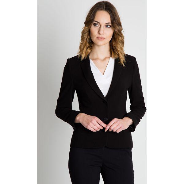 e71b62afdbe71 Czarny elegancki żakiet BIALCON - Marynarki i żakiety damskie marki ...