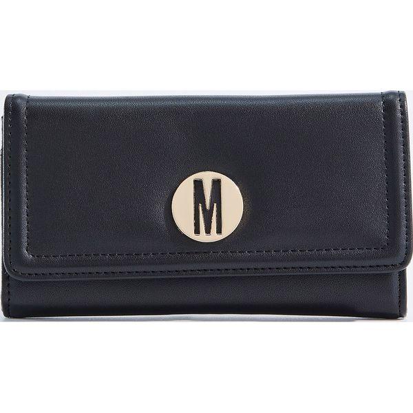 5acd012034334 Czarny portfel - Czarny - Czarne portfele damskie marki Mohito. W ...