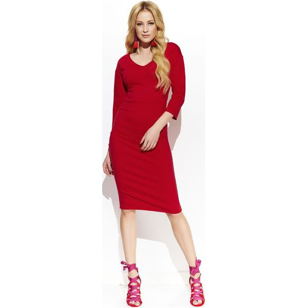 eb754dbda6829e Makadamia Damska Sukienka 36 Czerwona - Sukienki damskie Makadamia ...