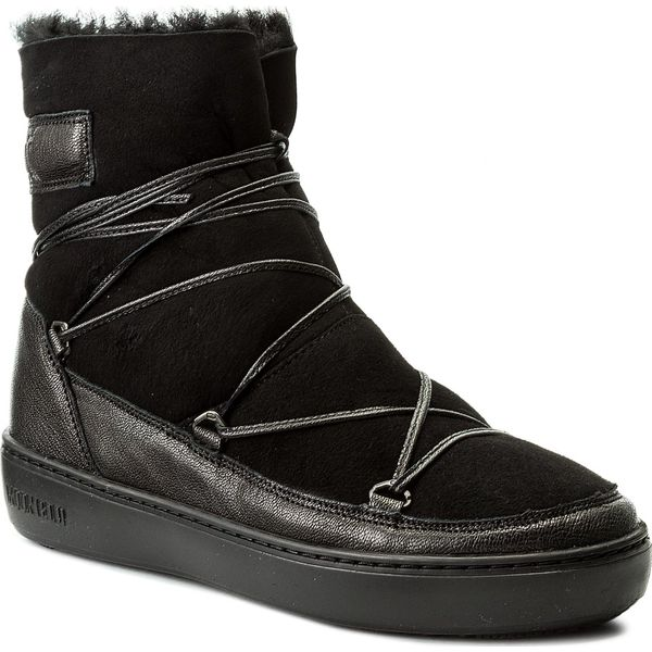 śniegowce Moon Boot Pulse Low Shearling 24102700005 Nero