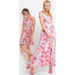 8ff32a563f Zwiewne sukienki w kwiaty maxi - Sukienki damskie - Kolekcja wiosna ...