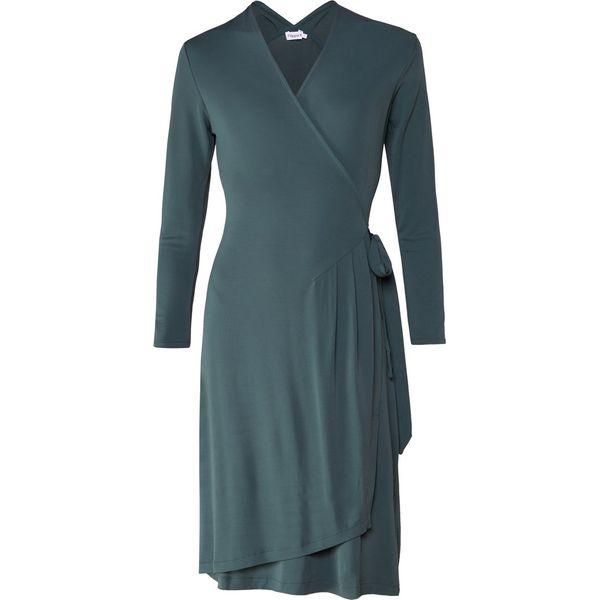 Filippa K DRAPEY WRAP DRESS Sukienka letnia spruce - Sukienki ... 571b5d7ca2e3